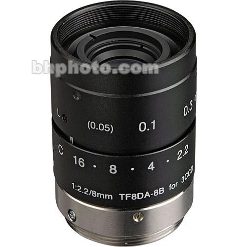 Fujinon  TF8DA-8 8mm f/2.2 C-Mount Lens TF8DA-8B