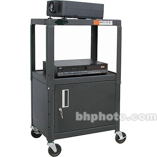 HamiltonBuhl A/V Cart, Adjustable Height 26 to HACAB4226E
