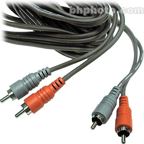 Hosa Technology 2 RCA Male to 2 RCA Male Dual Cable CRA-202
