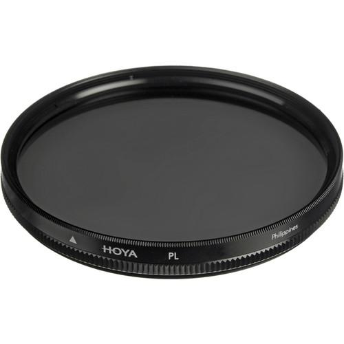 Hoya 58mm Linear Polarizer Glass Filter B-58PL-GB
