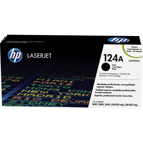 HP  LaserJet 124A Black Print Cartridge Q6000A