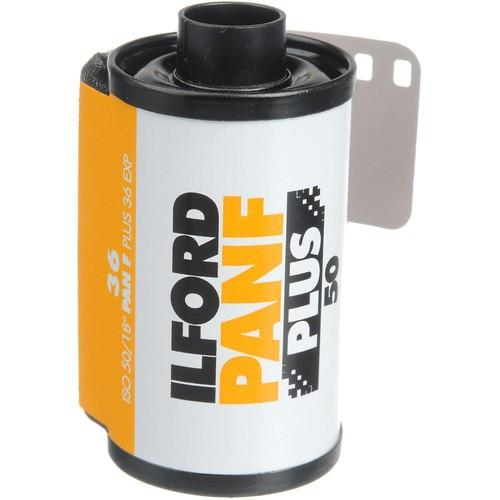 Ilford Pan F Plus Black and White Negative Film 1707768
