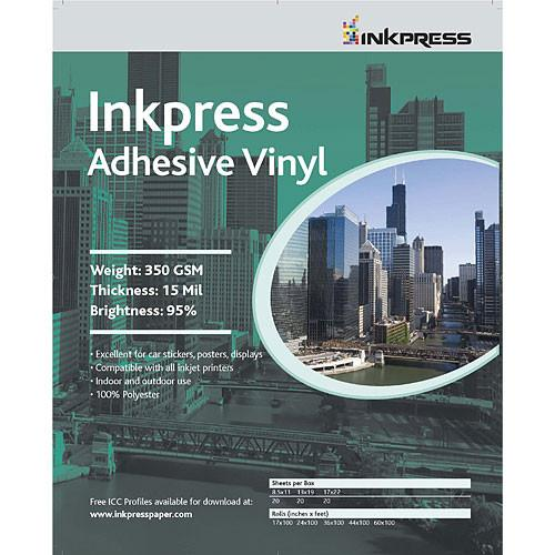 Inkpress Media Adhesive Vinyl - 8.5x11