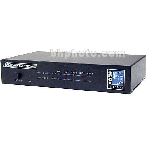 JLCooper eBOX - Quad Serial to Ethernet Interface EBOX