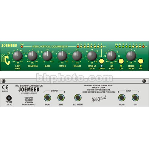 Joemeek  Mc2 Stereo Compressor MC2
