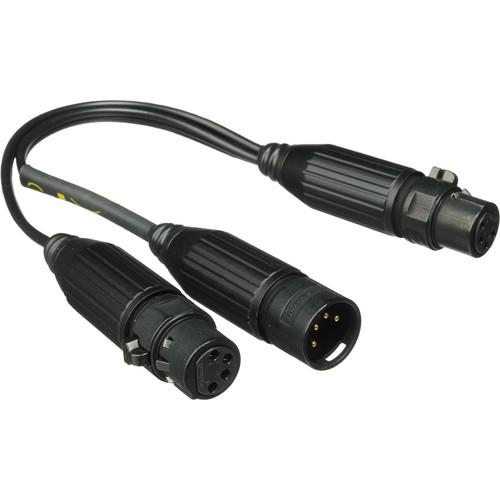 Kino Flo Splitter Cable - 1 Male to 2 Female - XLR PWC-X42