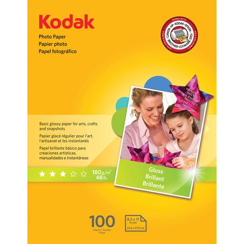 Kodak Glossy Photo Paper (8.5 x 11