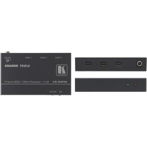 Kramer VS30FW 3-Port FireWire-800 Repeater/Hub VS-30FW