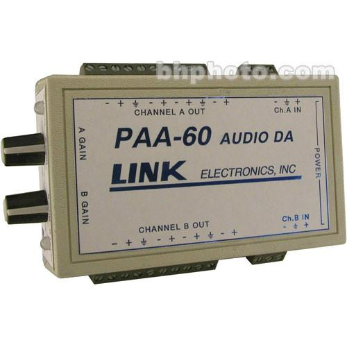 Link Electronics PAA-60 Portable 1x8 Audio Distribution PAA-60