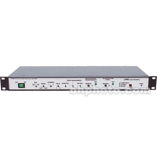 Link Electronics PDR-870 Closed Caption Decoder and PDR-870