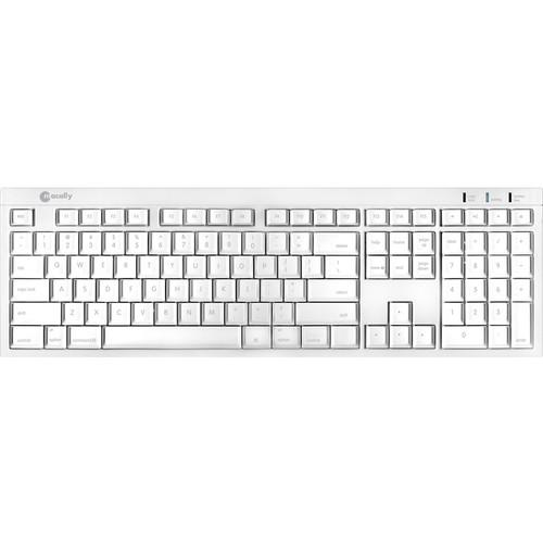 Macally BTKey Wireless Bluetooth Slim Keyboard for Mac BTKEY