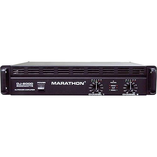 Marathon DJ-6000 Stereo Power Amplifier MA-DJ6000