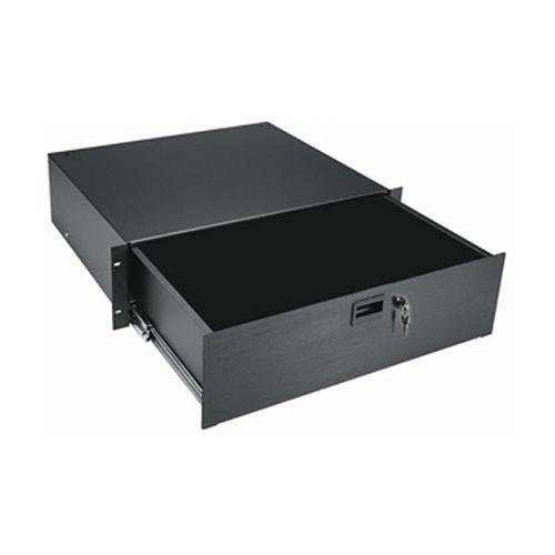Middle Atlantic 3-Space Rack Drawer with Lock D3LK