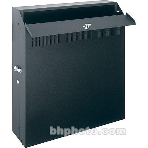 Middle Atlantic Low-Profile Wall-Mount Rack (Black) WRS-6