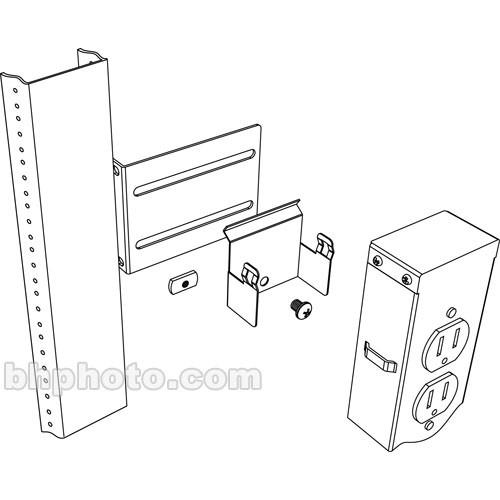 Middle Atlantic PB-5A Vertical Power Strip Brackets PB-5A