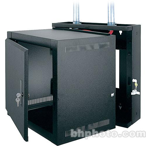 Middle Atlantic Steel Wall Mount Rack (Black) EWR-12-17SD
