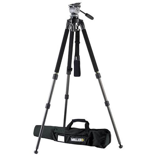Miller 1643 Miller Solo DV Alloy Tripod with DS-20 Fluid 1643