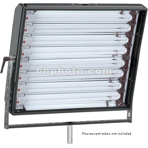 Mole-Richardson Biax-8 Fluorescent Fixture with Yoke, 7421C220