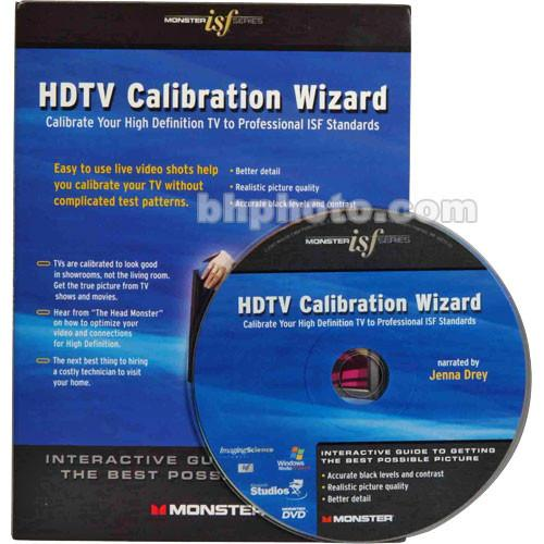 Monster Cable Monster/ISF HDTV Calibration Wizard DVD 123901