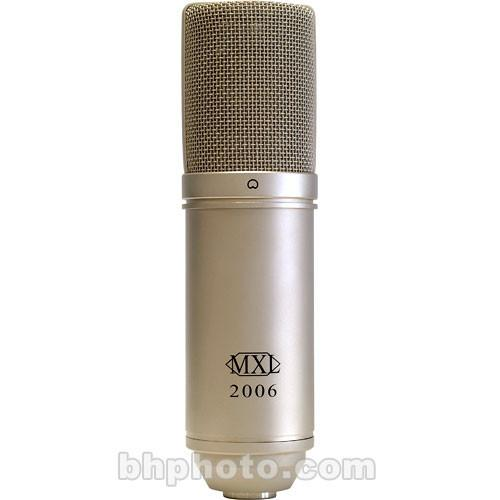 MXL 2006 Large Diaphragm Condenser Microphone (Silver) 2006