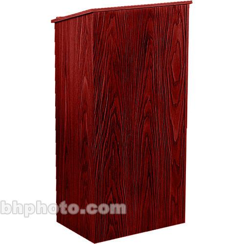 Oklahoma Sound Full Floor Lectern #222 (Mahogany Laminate)