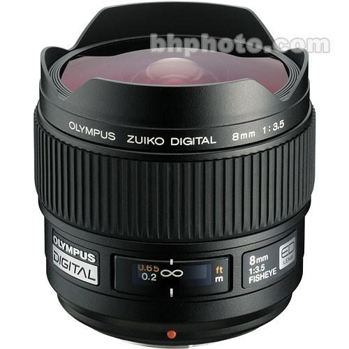 Olympus 8mm f/3.5 Fisheye ED Zuiko Digital Lens 261010