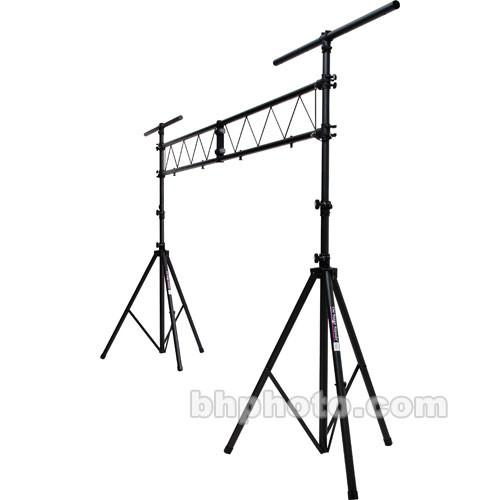 On-Stage Lighting Stand with 10' Truss - Black LS9790