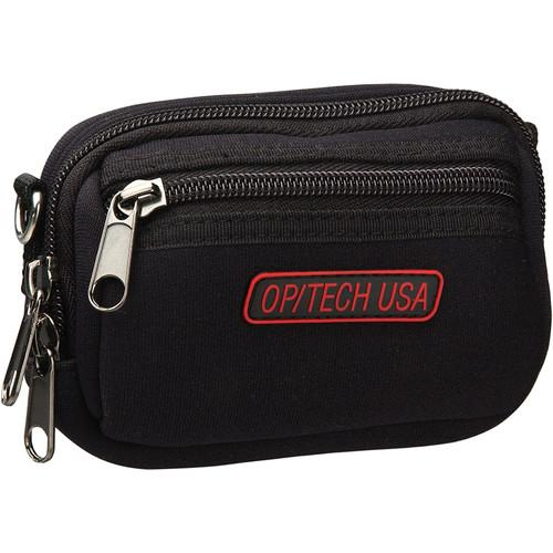 OP/TECH USA Zippeez Soft Pouch, Medium (Black) 8401124
