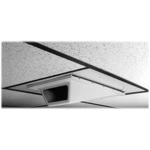 Pelco EH1000 Indoor In-Ceiling Wedge Enclosure EH1000