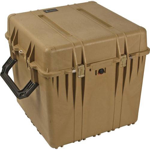 Pelican 0350 Cube Case without Foam (Desert Tan) 0350-001-190