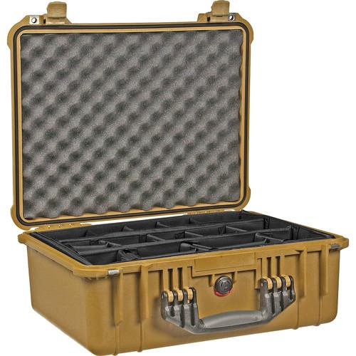 Pelican 1554 Waterproof 1550 Case with Dividers 1550-004-190