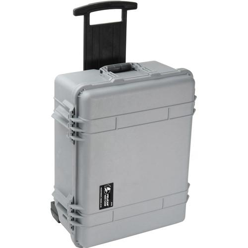 Pelican 1560NF Case without Foam Silver) 1560-001-180