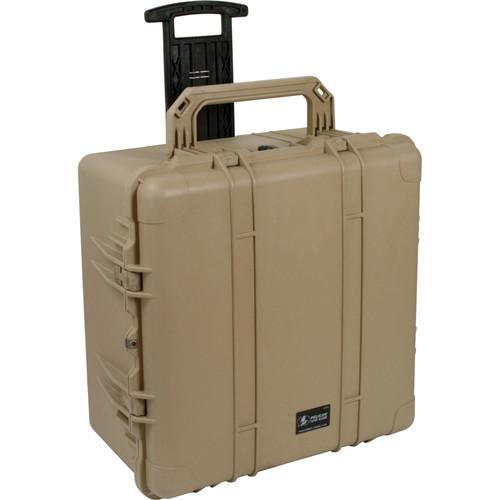 Pelican 1640NF Case without Foam (Desert Tan) 1640-001-190