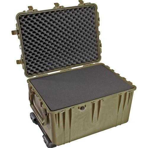 Pelican 1660 Case with Foam (Olive Drab Green) 1660-020-130