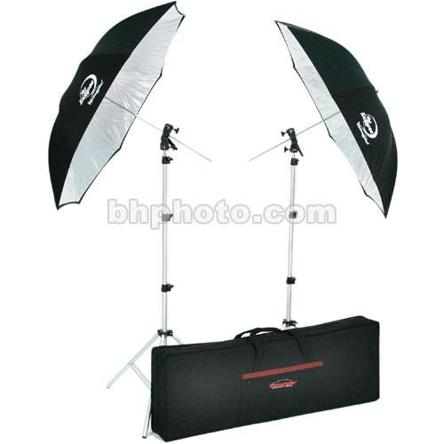 Photogenic  Two Umbrella and Stand Kit 926621