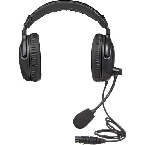 PortaCom  H200 - Dual Earpiece Headset H-2000