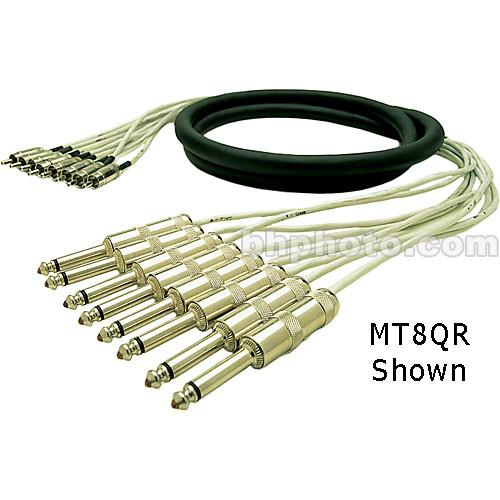 Pro Co Sound MT8RR-20 Analog Harness Cable 8x RCA Male MT8RR-20
