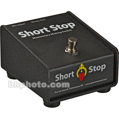 Pro Co Sound Short Stop - Passive Momentary Switch CDSS