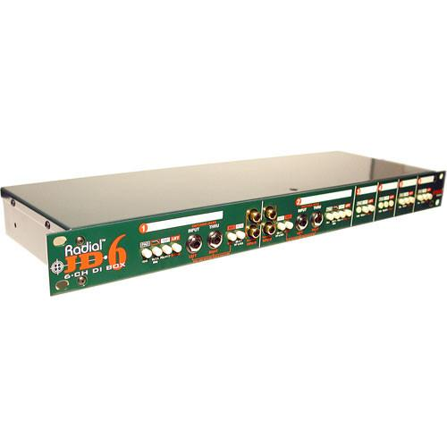 Radial Engineering JD 6 Six-Channel Direct Box R800 6000