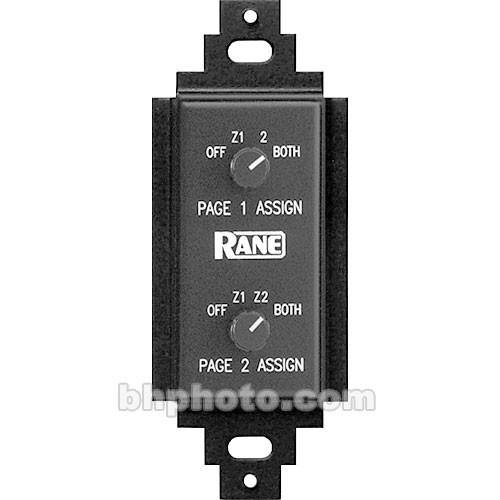 Rane PR-2 - Page Assign Control for CP-64 and CP-52 PR 2