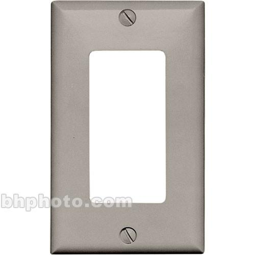 RDL  CP-1G Single Cover Wall Plate (Gray) CP-1G