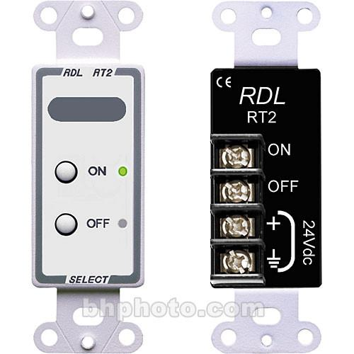 RDL  D-RT2 Remote Control Selector (White) D-RT2