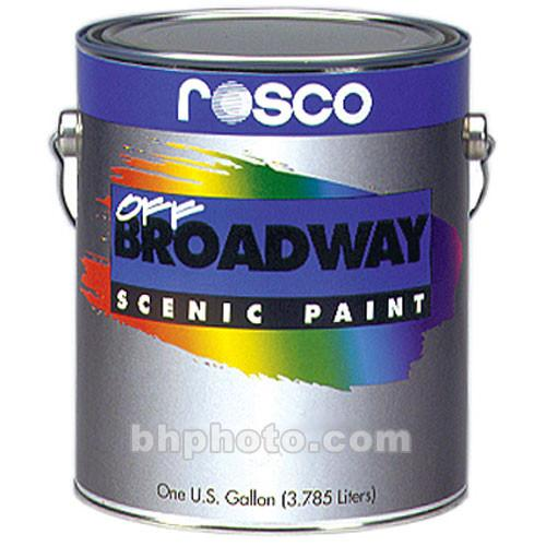 Rosco Off Broadway Paint - Earth Umber - 1 Gallon 150053580128