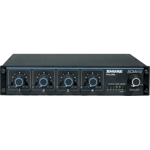 Shure  SCM410 4 Channel Automatic Mixer SCM410