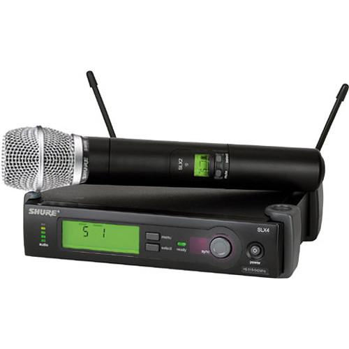 Shure SLX Series Wireless Microphone System G4/470 SLX24/SM86-G4