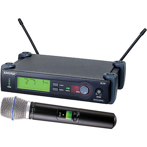 Shure SLX Series Wireless Microphone System SLX24/BETA87C-G4