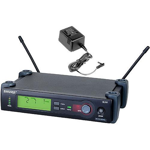 Shure SLX4 Wireless Receiver with Antennas and Power SLX4-G5