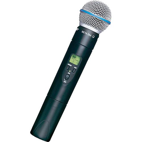 Shure ULX2 UHF Handheld Transmitter with Beta 58 ULX2/BETA58-G3