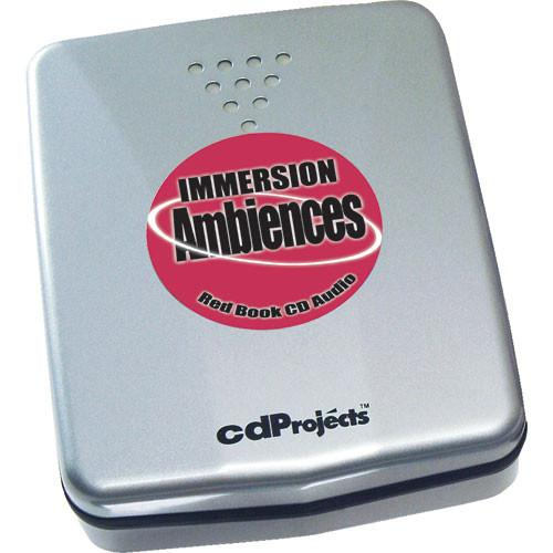 Sound Ideas Sample CD: Immersion Red Book Audio SI-IMMER-AUDIO
