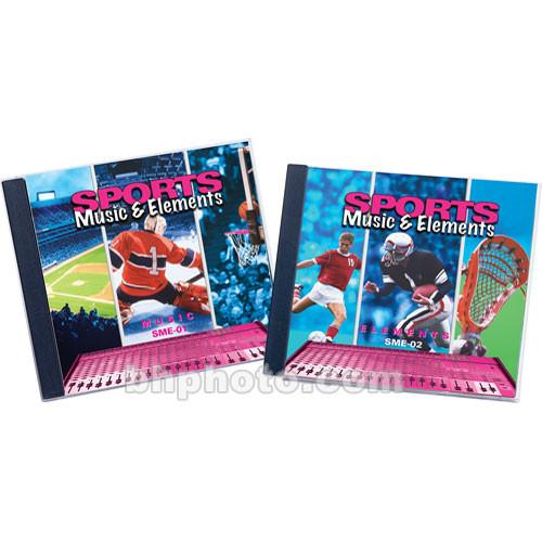 Sound Ideas Sample CD: Sports Music and Elements SI-SPORTSMUSIC